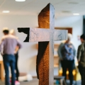 Walnut Cross in IMI Bønnehuset