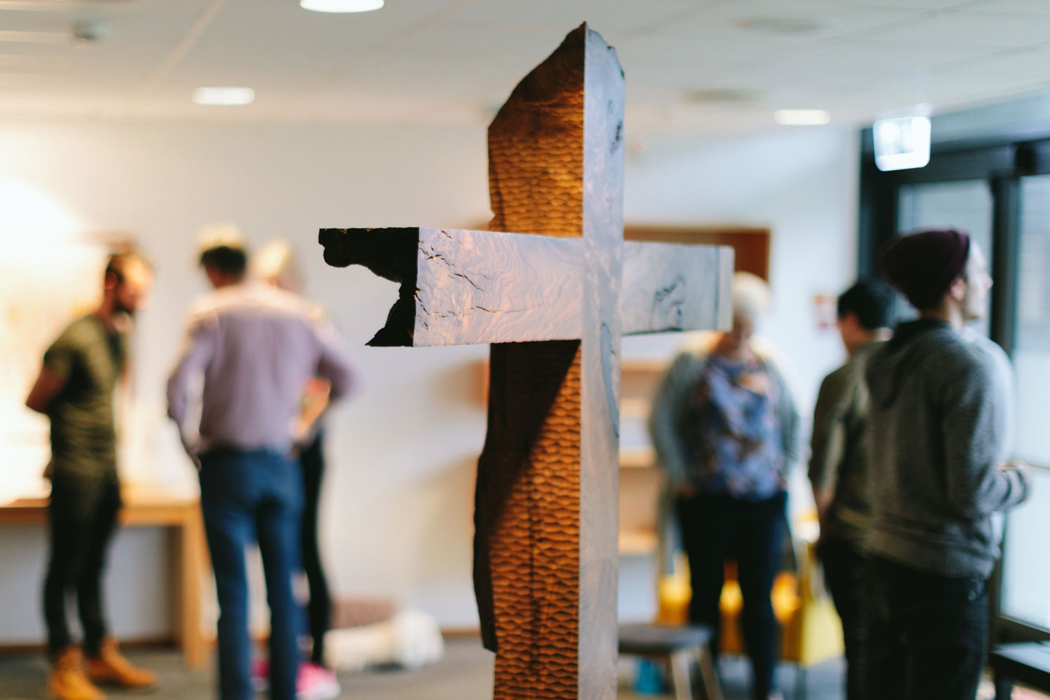 Walnut Cross in IMI Bønnehuset